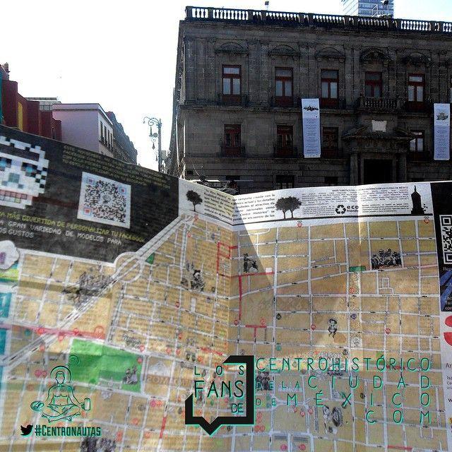 """""""Recuerda nuestro mapa que se regalaba en cantinas, hoteles y restaurantes del #centrohistorico.  #fansdelcentro #fotonautas #fotosdelcentro #centronautas #fotoshistoricas #mexicoantiguo #arteurbano #artistasurbanos #mexico #df #centrohistorico #centrohistoricodf #centrodf #enelcentro #cdmx"""" Photo taken by @fansdelcentro on Instagram, pinned via the InstaPin iOS App! http://www.instapinapp.com (10/29/2014)"""