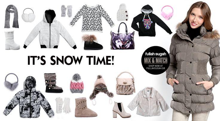 Autumn/Winter 2014 | FULLAHSUGAH IT'S SNOW TIME MIX N' MATCH | Shop now at: http://fullahsugah.gr