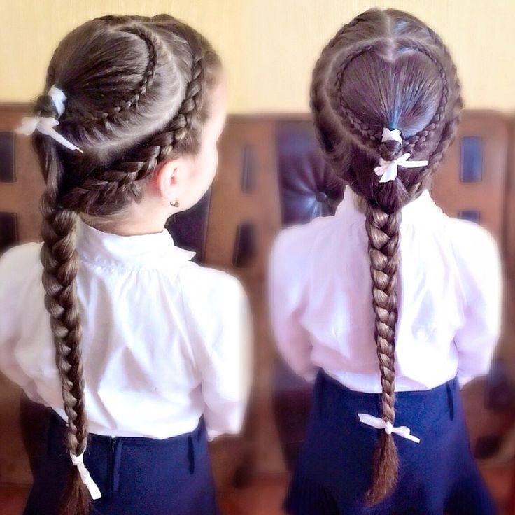 Косы для девочек, прически из кос