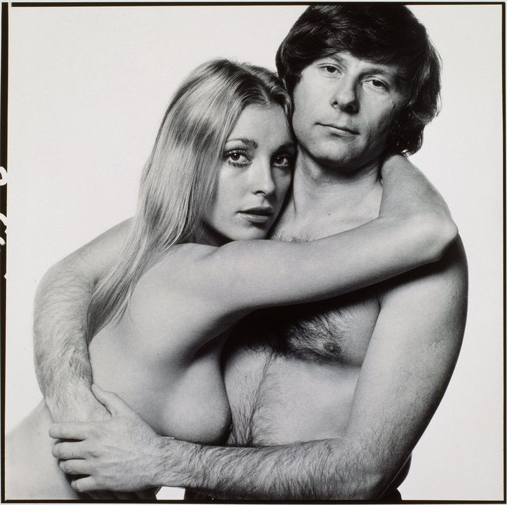 Sharon Tate and Roman Polanski, 1969 by David Bailey