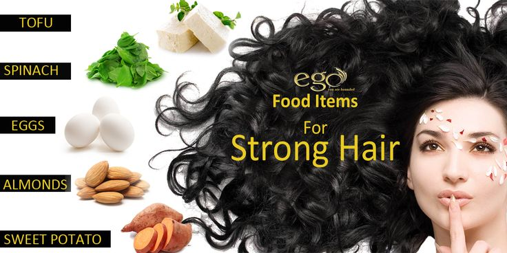 ‪#‎TipOfTheDay‬! Food Items For Strong Hair! ‪#‎StrongHair‬ ‪#‎HairTips‬ ‪#‎Egowellness‬