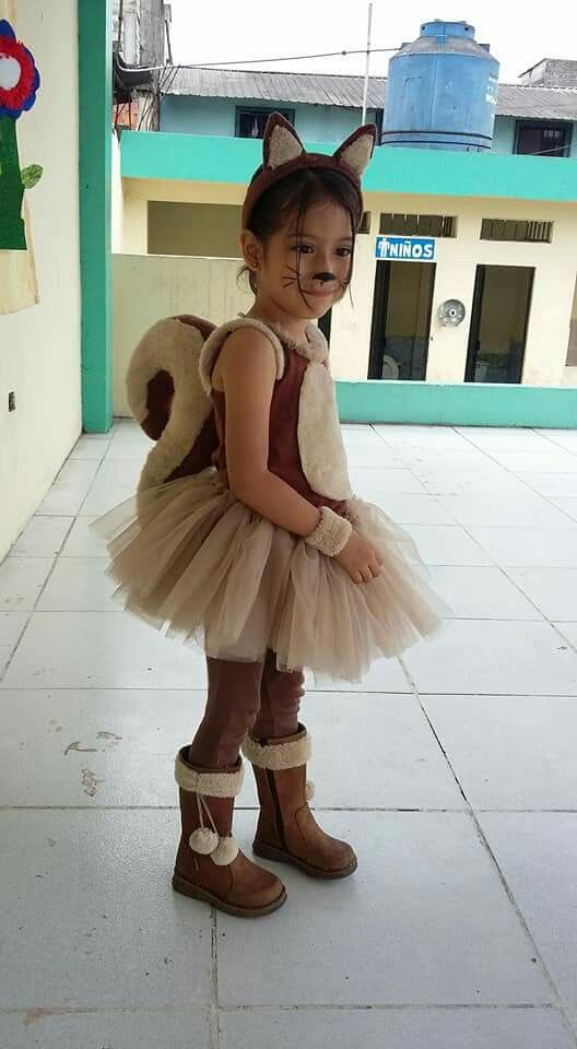 Ardilla #Fasching #Karneval #Kostüm #Kinder #Idee #Mädchen