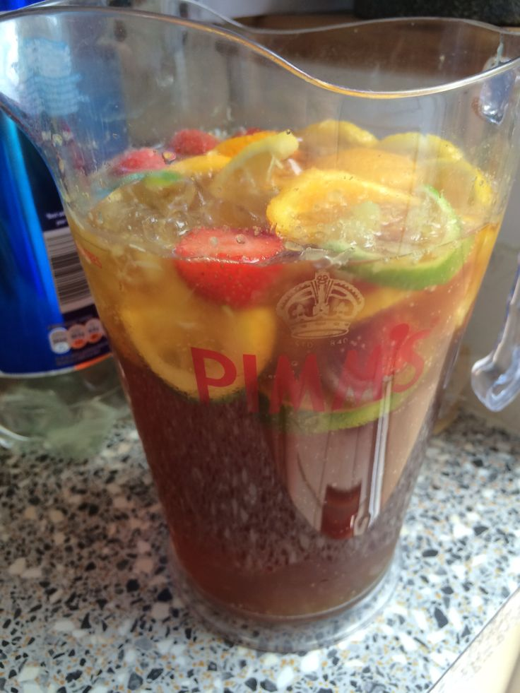 Pimm's and Homemade on Pinterest