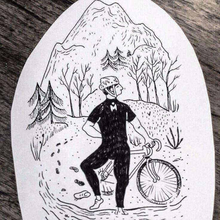 "Para los que tienen ""mono"" de bici y aún falta para el fin de semana!! #bike #mtb #mountain#cycling#ironman#triatlon#duatlon#trail#tattoo #naturaleza #mountains #montaña #montseny #winter #blackwork #blacktattoo #tattoo #santceloni #barcelona#nature#winter#autumn#tattoodesign#tattooartist #darkartists"