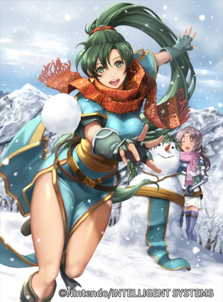 Fire Emblem - Lyn and Florina