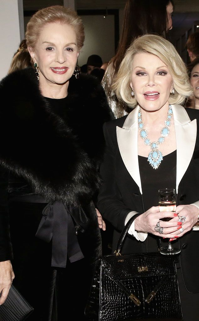 Carolina Herrera from Joan Rivers' Famous Friends | E! Online