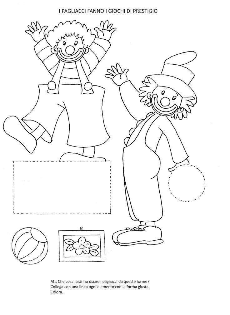 Populaire Oltre 25 fantastiche idee su Forme scuola dell'infanzia su  GI99