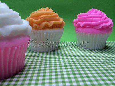 Σαπούνια Cupcakes