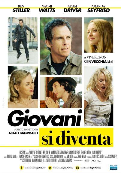 Giovani si diventa (film, commedia) con Ben Stiller e Naomi Watts ... al #cinema dal 9 luglio 2015 ... #film #trailer