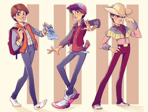 Back to the future Art_1