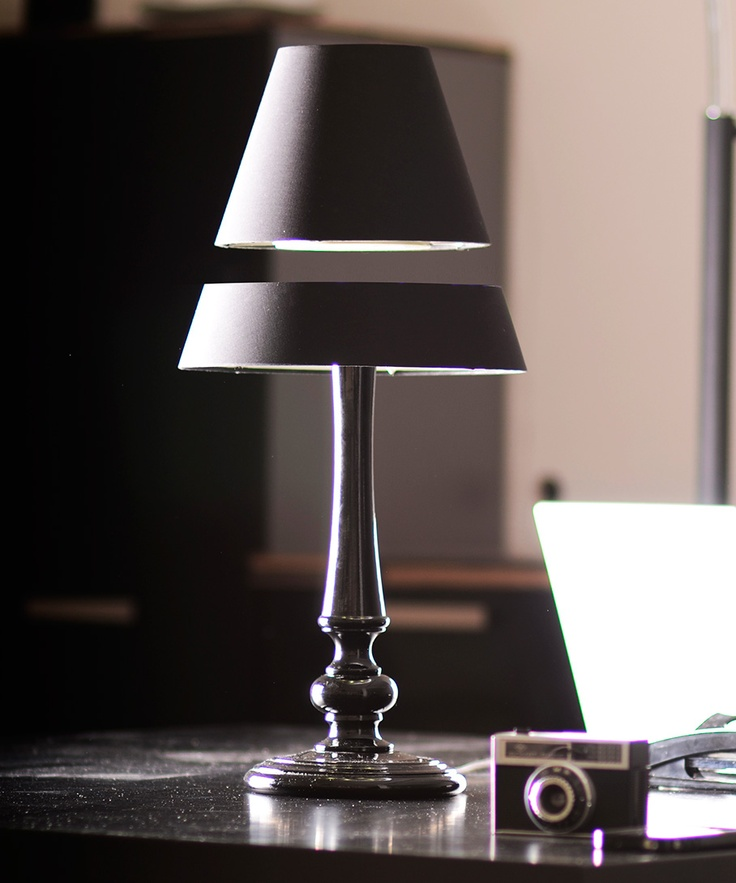 Levitating Lamp at www.dotandbo.com