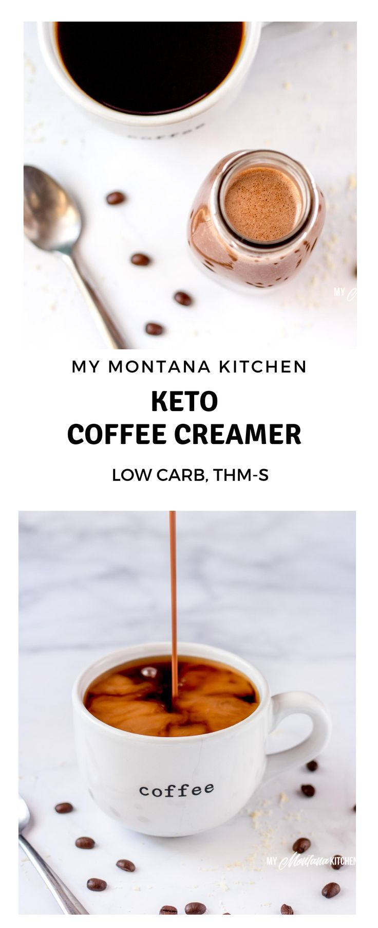 If you are missing coffee creamer on your keto diet, I