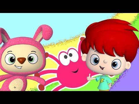 Itsy Bitsy Spider #kidsrhymes #nurseryrhymes #babysongs #babyrhymes #rhymesforchildren