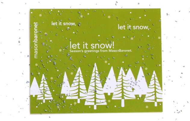 MasonBaronet holiday scratch-off card 2009