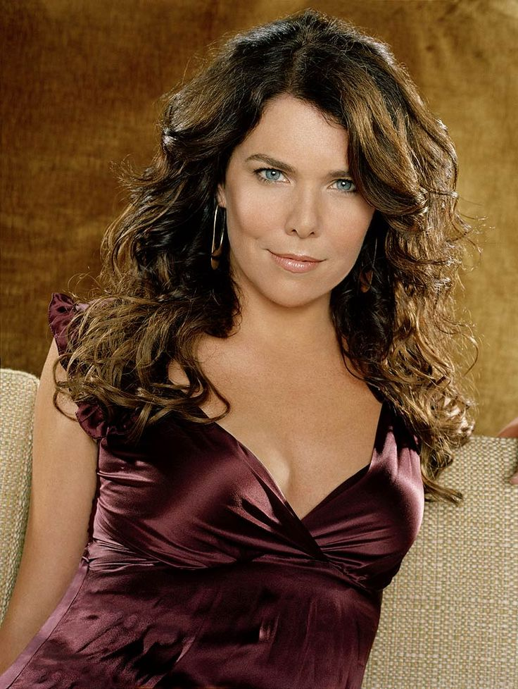 Lauren Graham. Have loved her since Day 1 of Gilmore Girls.