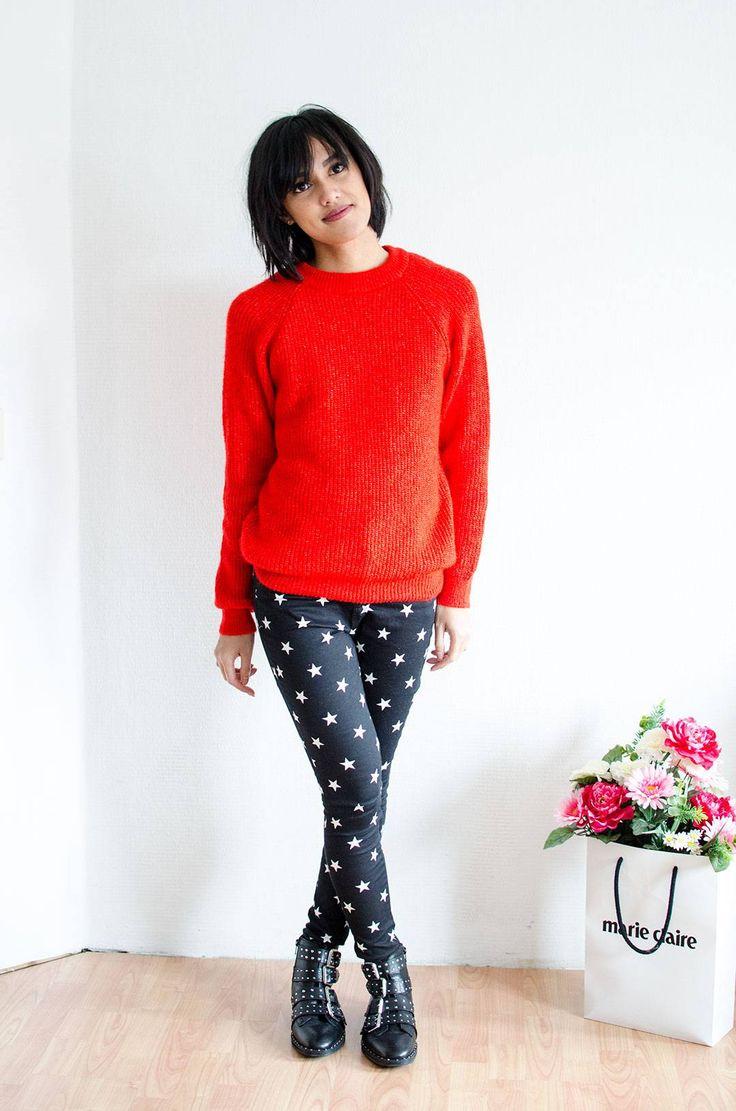 Kerst outfit inspiratie | Sterren, glitters