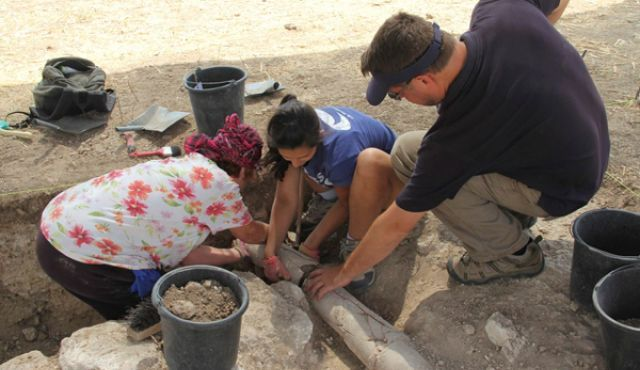 1,800-Year-Old Roman Legion Headquarters Unearthed in ancient Galillee (Israel).