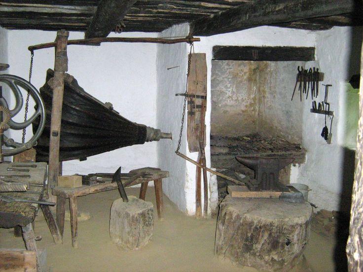 skanzen kovácsműhely