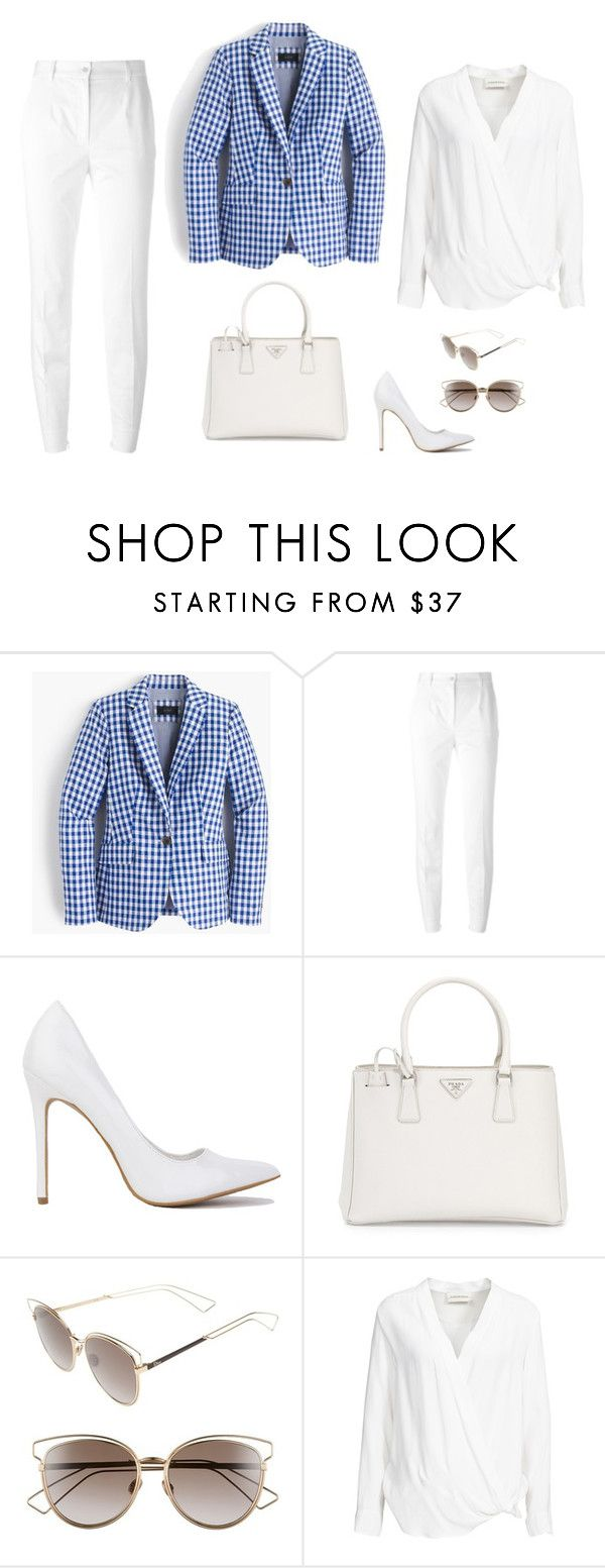 """""""Business look"""" by monika1555 on Polyvore featuring J.Crew, Dolce&Gabbana, Prada, Christian Dior and By Malene Birger"""