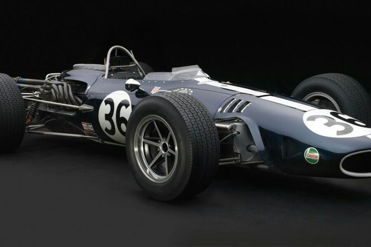 "Dan Gurney's '67 F1 race winning ""mag-ti Eagle"" (magnesium&titanium)"