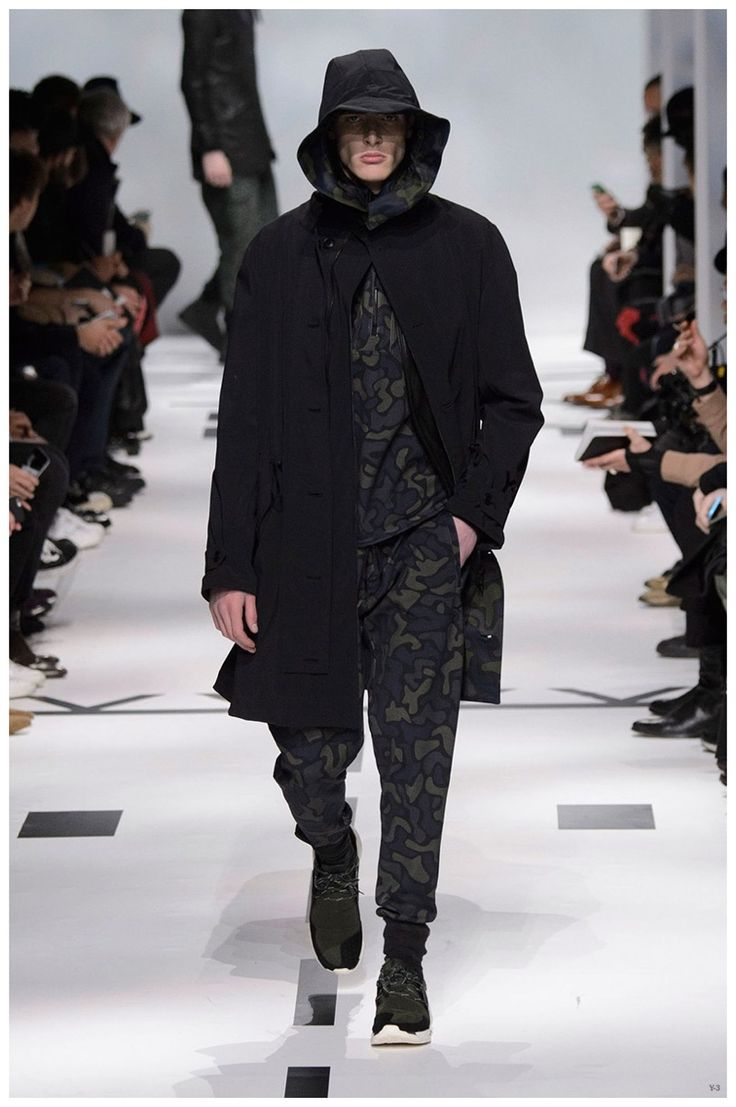 Y-3 Fall/Winter 2015 Menswear Collection: Aviation Bound