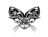 butterfly with cat eye tattoo | cats tatts and crazy cool shit! | Pin ...