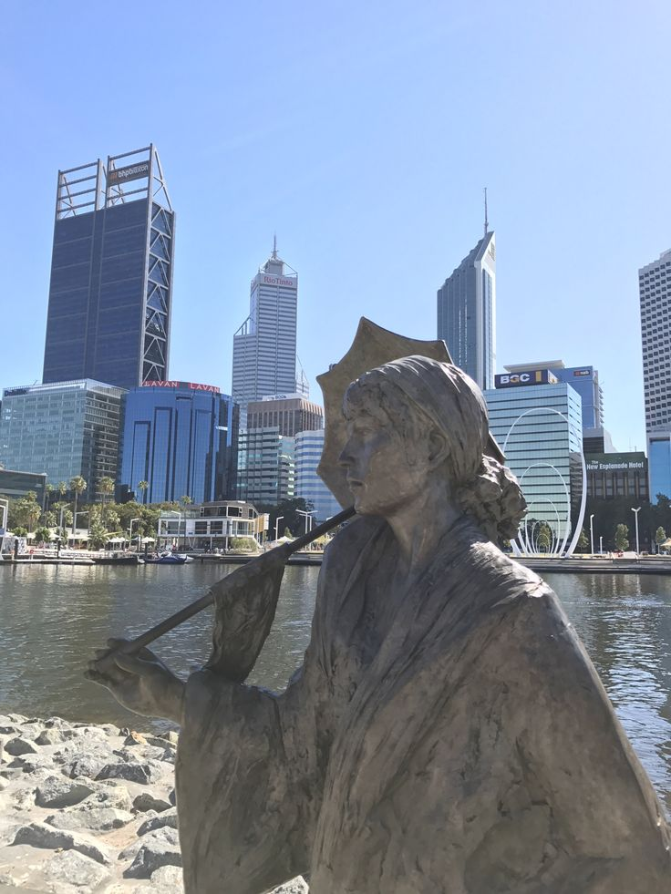 Elizabeth Quay on the Perth waterfront