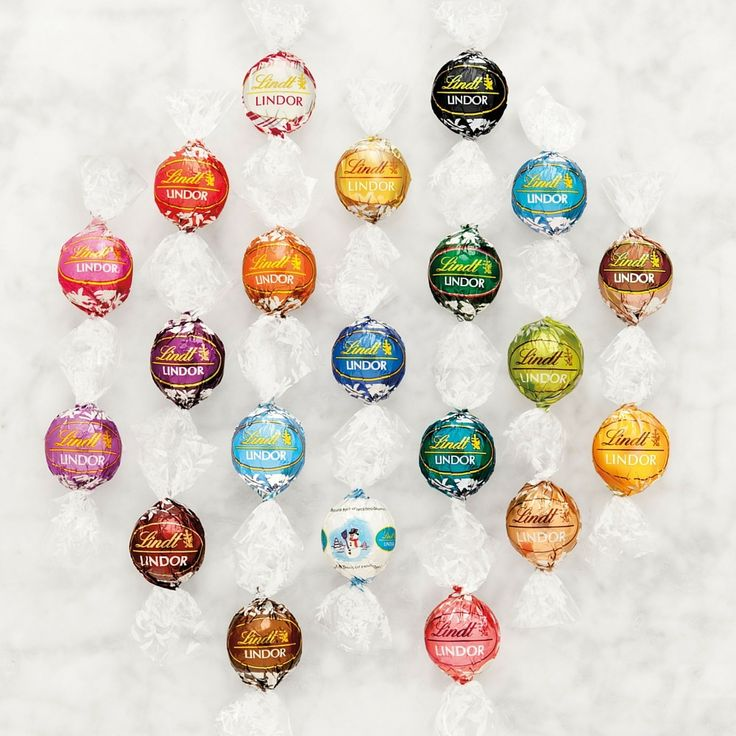 Just like no two snowflakes are the same, you will love trying all the different flavors of our LINDOR truffle collection!