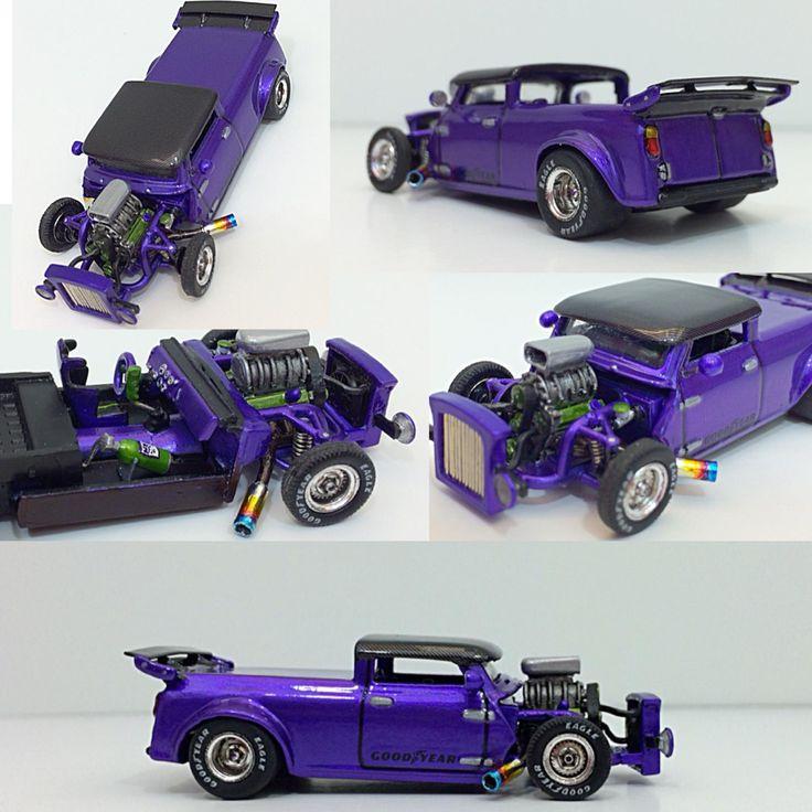 Painting Model Cars With Nail Polish