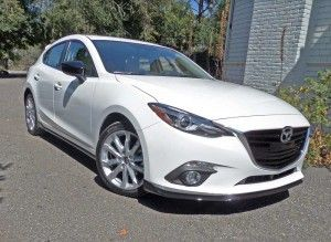 2015 Mazda 3 hatch My new car