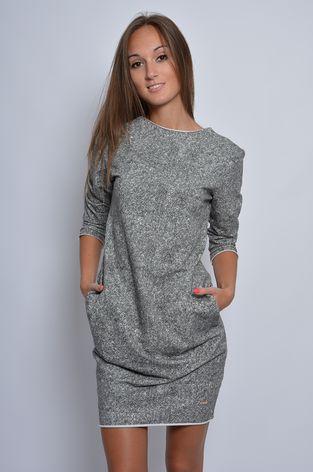 Sukienka dresowa tuba pieprz sól