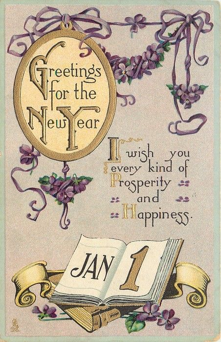 9fe7a18584eca61279c5a51be8916c1c new year card vintage cardsjpg