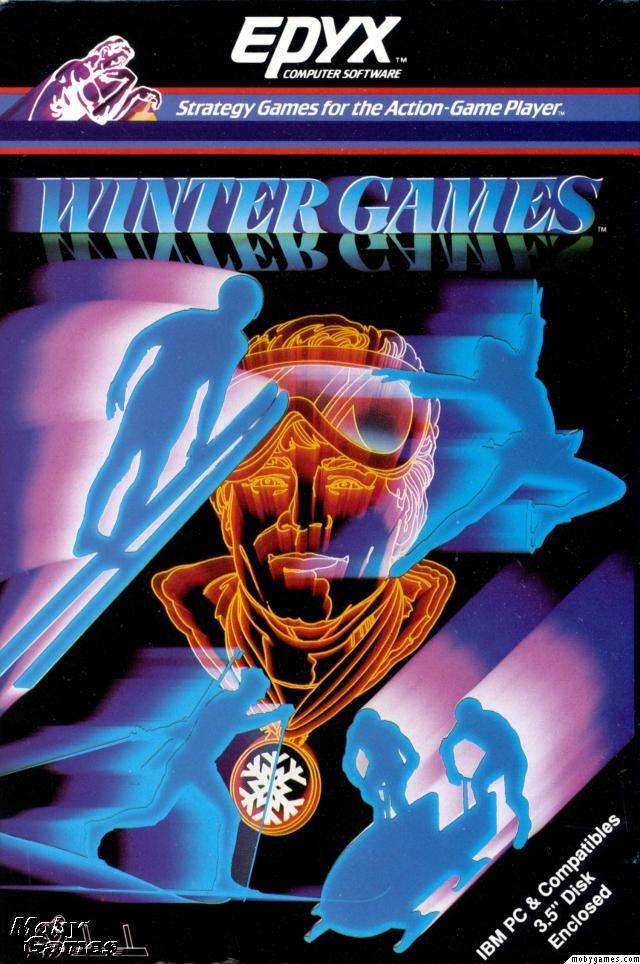 Winter Games - Commodore C64