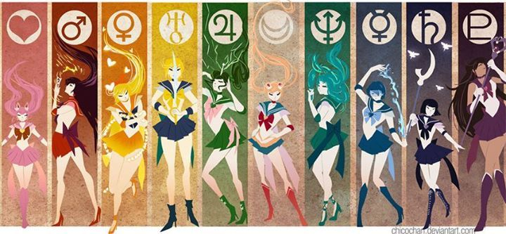 Sailor Moon is actually based off of the moon goddess Selene, who else knew that one?