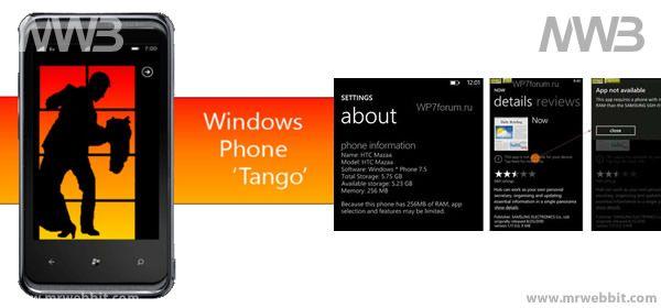 In arrivo per i nostri smartphone con sistema operativo Microsoft la nuova versione chiamataWindows PhoneTango che porterà molti miglioramenti per i telefonini di fascia alta ma anche purtroppo qualche limitazione per quelli di fascia bassa.