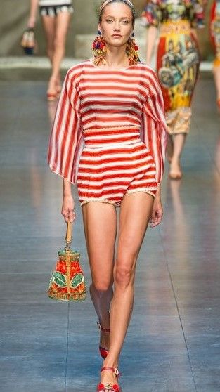 44eaa289376b Dolce   Gabbana Spring 2013 Ready-to-Wear