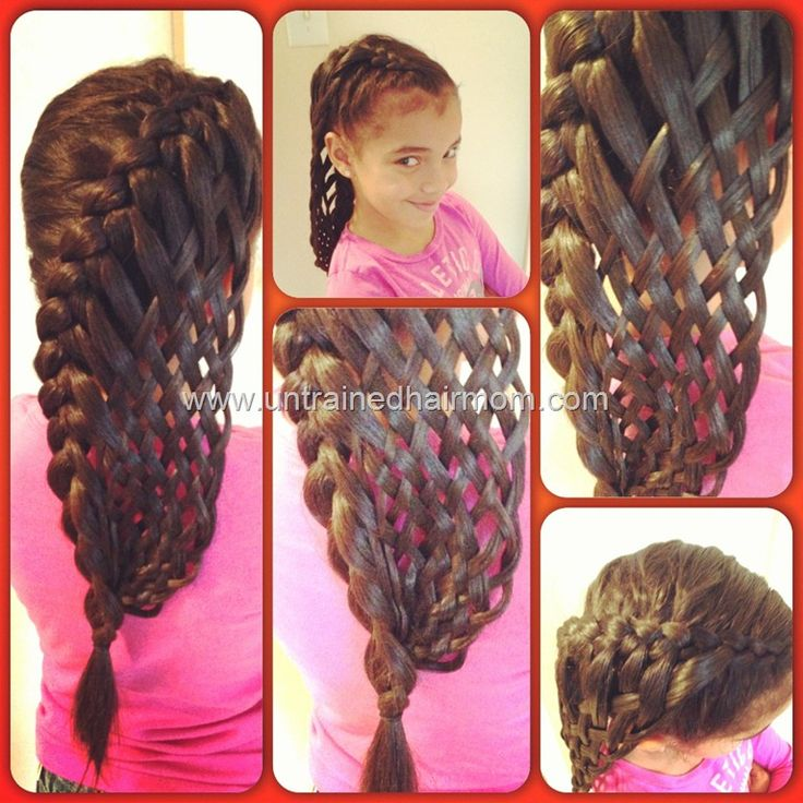 How Long Does It Take To Weave A Basket : Weave black braids into purple hair tips it s very