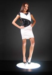 This dress is perfect for a club party!