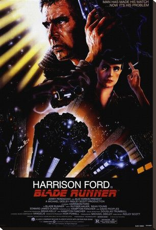 Blade Runner Lærredstryk på blindramme