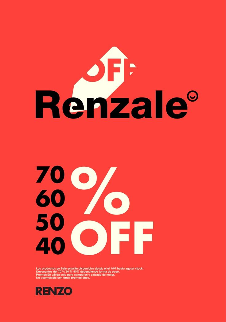 ⭐ Estamos de #Renzale ⭐  Accedé a descuentos irresistibles en #Zapatos para #Mujer, #Camperas y #Carteras, de la colección #FW16.  Te esperamos en Santa Rosa 228 y José Luis de Tejeda 4111 - Córdoba.