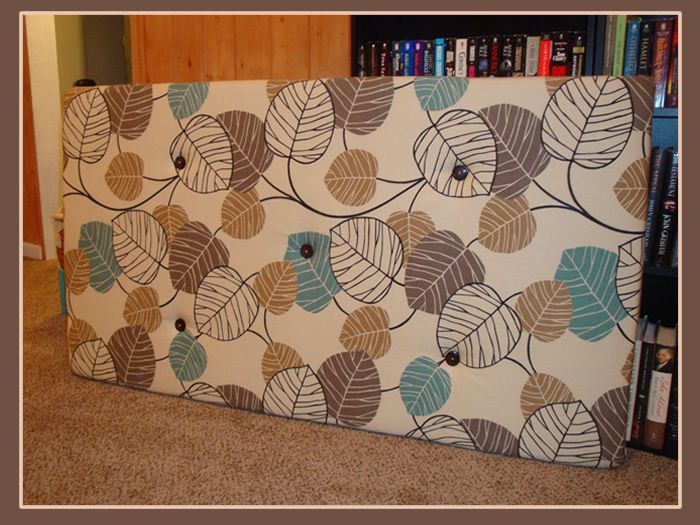 Best 25 homemade headboards ideas on pinterest homemade Homemade headboard ideas cheap