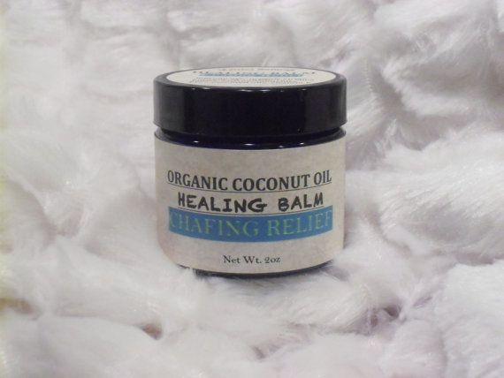 Chafing Relief Coconut Oil Healing Salve All by MattisaNaturals