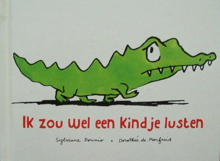 Een grappig boek over een kleine krokodil die liever een kindje wil eten dan alle lekkere dingen die zijn ouders hem voorzetten. Maar de ontmoeting met een dapper meisje brengt hem toch op andere gedachten