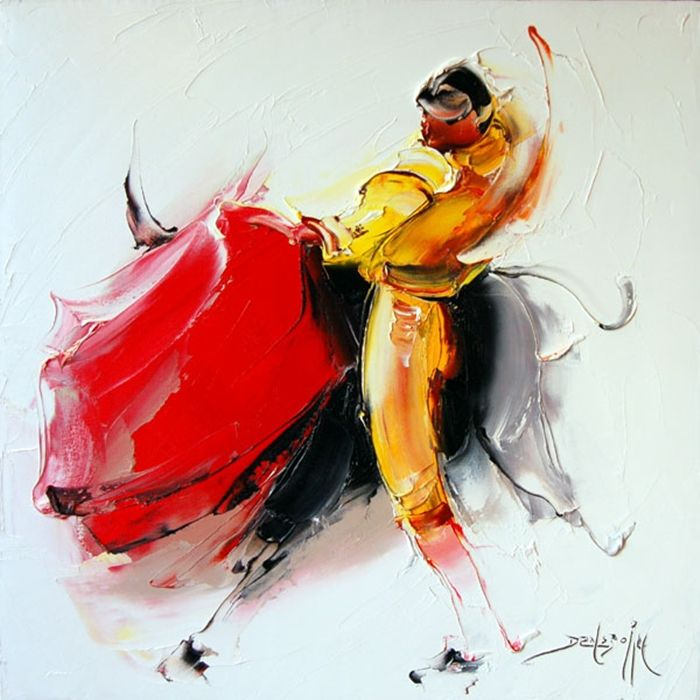 Daniel Densborn. Современный французский художник Даниэль Денсборн, современный французский художник