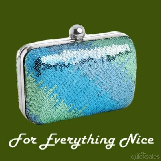 Ombre Shimmer Mini Sequin Minaudiere Evening Bag Bridal Purse by JRMB7339 - $80.00