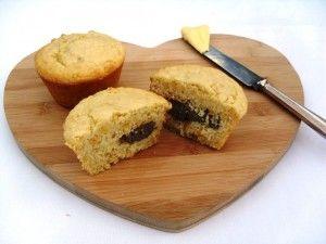 Boerewors and corn muffins
