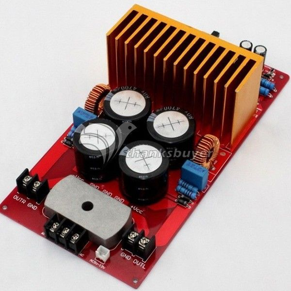 64.51$  Watch now - http://alihdz.worldwells.pw/go.php?t=32779412445 - YJ IRS2092 IRFB4227 2 Channel Amplifier 500W+500W 4ohm Class D Amplifier Completed Board 64.51$