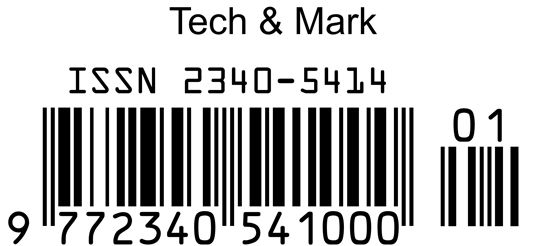 ISSN: Tech & Mark, Technology and Marketing for Hotels and Restaurants.   You can find for our ISSN (International Standard Serial Number).