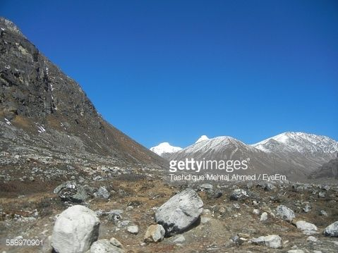 Stock Photo : View Of Mountain Landscape