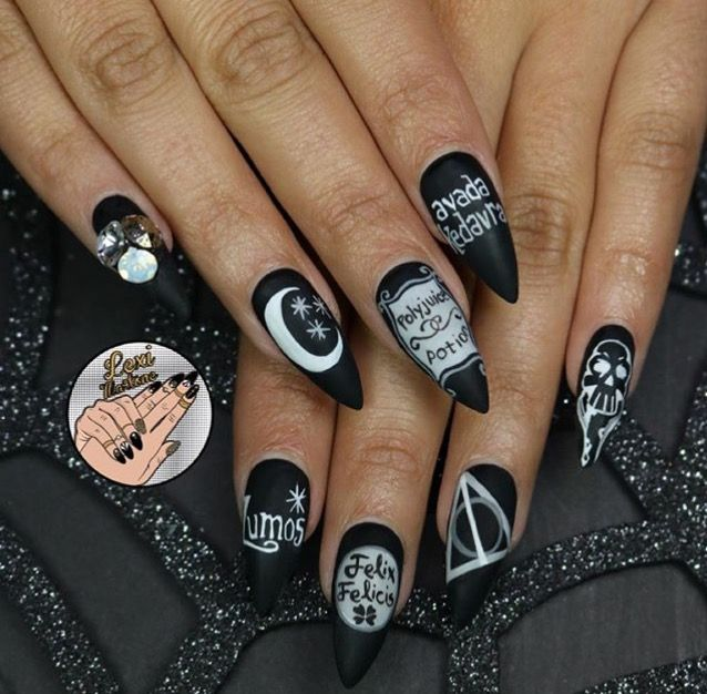 Nail Colors Halloween: Pin By Lauren Spigno On NAILS